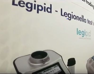 Legipid & Primelab at Wetex Dubai 2017 legionella detection